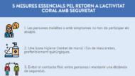 Mesures per al cant coral - Coronavirus