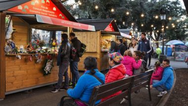 Nadal a la plaça de Catalunya