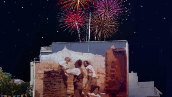 Cartell de la Festa Major de la Teixonera