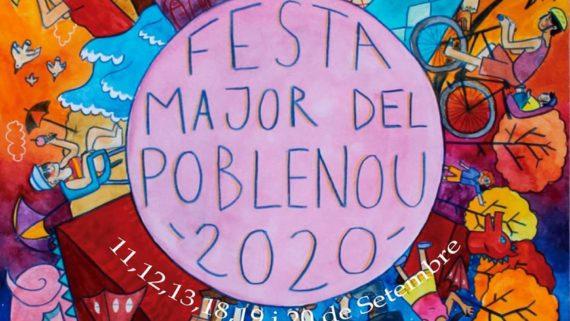 Cartell de la Festa Major del Poblenou 2020