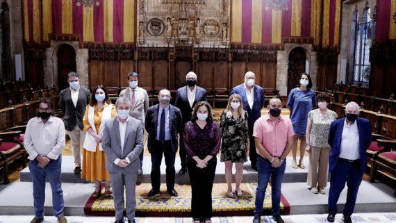 Presentación del Pacto por Barcelona.