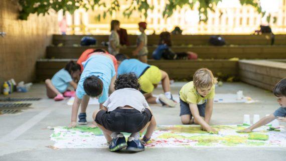 Pla de barris, covid-19, infants, casals d'estiu
