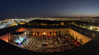 castell de montjuïc, pati d'armes, sala barcelona