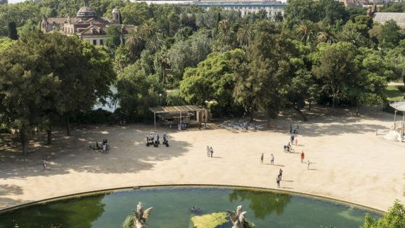 Reobre el parc de la Ciutadella