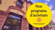 Nou programa d'activitats de La Fàbrica del Sol