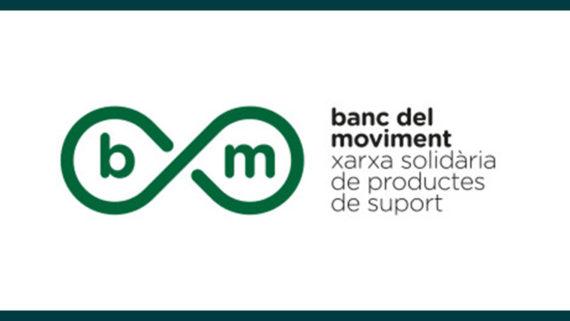 Logo del Banc del Moviment, xarxa solidària de productes de suport