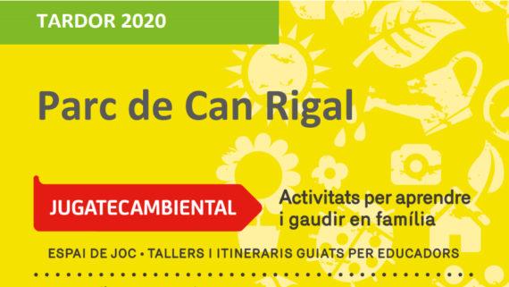 Programació Jugatecambiental Parc de Can Rigal
