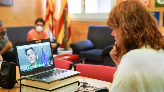 Reunión d'Eurocities con Margrethe Vestager.