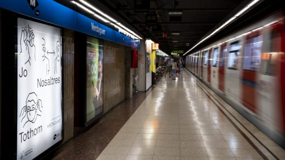 Metro campanya mascareta