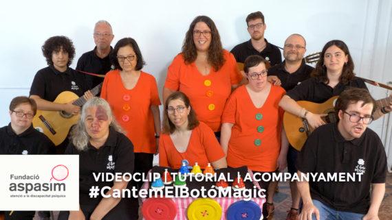Imatge promocional de la campanya 'Cantem el Botó Màgic'