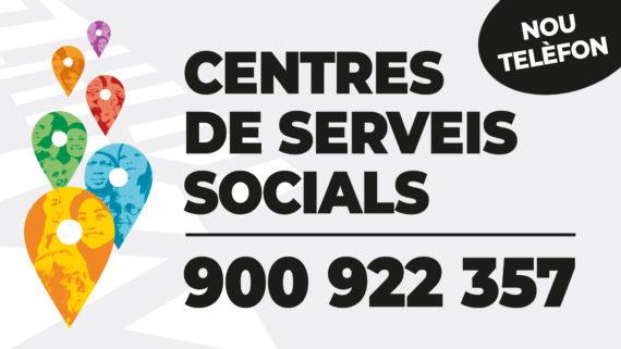 Nou telèfon centres serveis socials