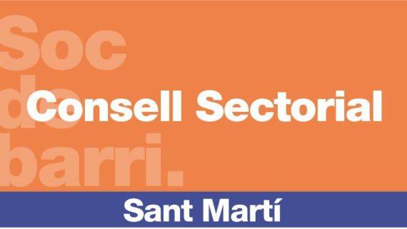 Consells Sectorials Sant Martí