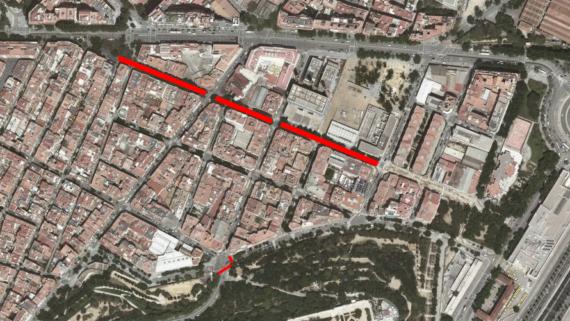 Obres carrers Poble-sec 11-12 2020