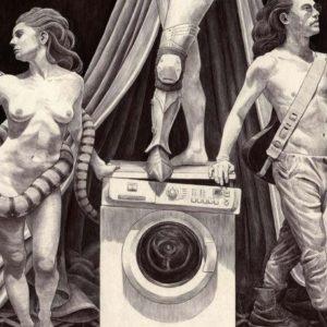 Cartel promocional de Incluso la oscuridad, el 25º Circo de Invierno del Ateneo Popular 9 Barrisn