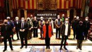 Ada colau, Manifesta, biennal d'art manifesta, Europa, foto de grup candidatura manifesta
