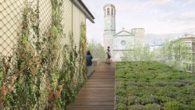 Equipament Sarrià 3 terrat cívic
