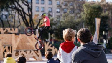 Festival de Nadal a la pl.Catalunya