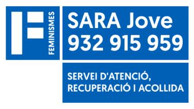 SARA_Jove, Servei d'Atenció, Recuperació i Acollida, dones, infants, violència masclista, Barcelona