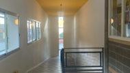 Escola Coves d'En Cimany, el Carmel, obres RAM, interior escola, passadís