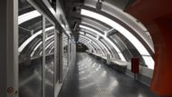 Andana de la línea 9 del Metro de Barcelona