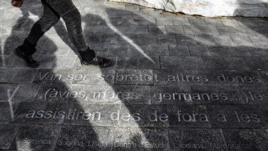 Escrit asfalt, record dones presó, Les Corts