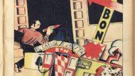 """-""""El carro de Bon"""" (Romà Bonet) dibuixat per ell mateix el 1930 per al suplement del diari"""