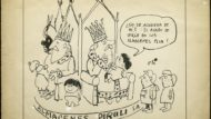 Dibuix d'Oli, Enric Oliván, publicat a El Noticiero Universal 1969