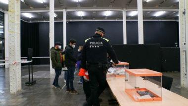 GUB, Guàrdia Urbana, Dispositiu, eleccions, votacions, 14F