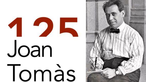 125 anys Joan Tomàs