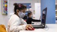 Nenes, tecnologia, bretxa digital, Barcelona