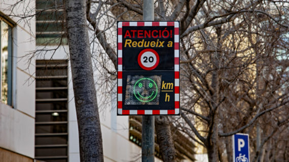 Barcelona 13.01.2020 LÕalcaldessa de Bcn, Ada Colau, presenta un programa d'actuacions per protegir els entorns dels centres educatius de Barcelona.      Foto Laura Guerrero/Ajuntament de Bcn.