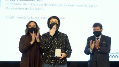 Medalla a títol pòstum per a David Caminada