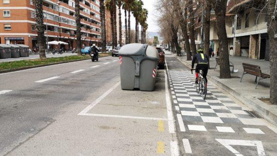 Carril bici pg Zona Franca 13