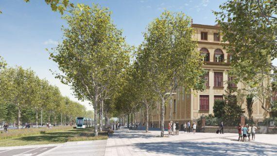 urbanització primer tram tramvia