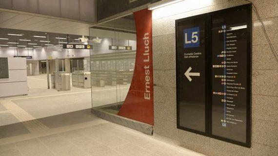 estació ernest lluch metro L5