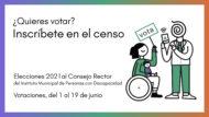 ¿Quieres votar? Inscríbete en el censo.