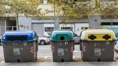 contenidors de recollida selectiva