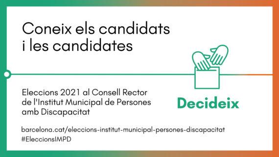 Banner coneix les candidatures al Consell Rector de l'IMPD.