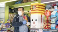 Sant Jordi 2021, venda de roses, mascareta, covid-19, mesures de seguretat
