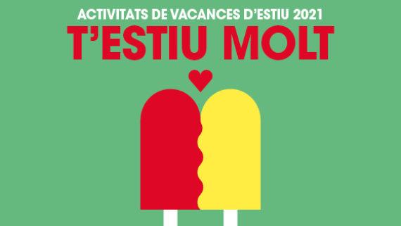 T'estiu molt, 2021, Barcelona, vacances, estiu, activitats, infants, adolescents