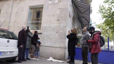 Descoberta Placa carrer d'Emília Llorca