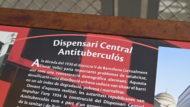 Faristol Dispensari Central Antituberculós, Memòria democràtica, faristol de memòria, Primavera Republicana