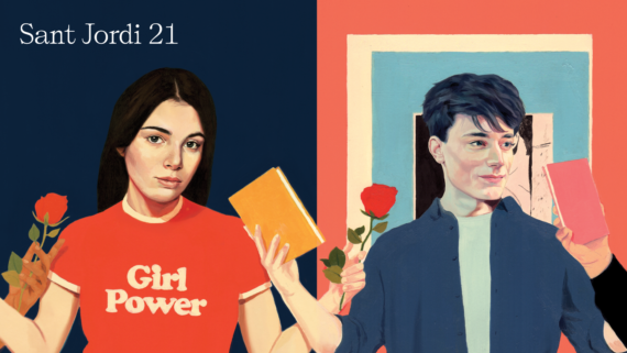 Sant Jordi, 2021, SantJordiBCN, Barcelona, llibres, roses