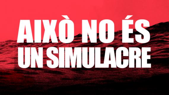 AIXO NO ES UN SIMULACRE