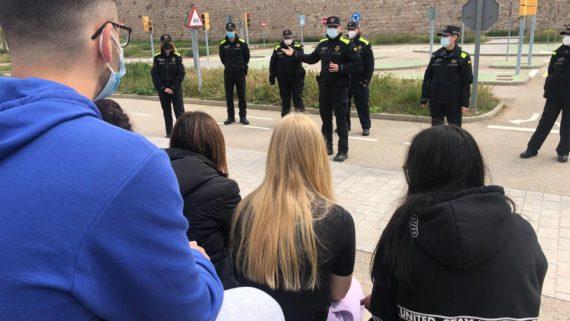 Guàrdia Urbana seguretat viària
