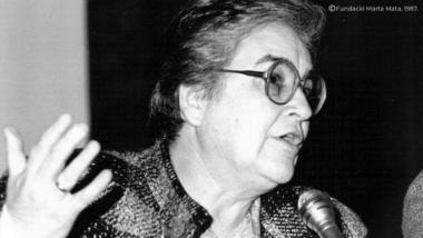 Marta Mata, fundació Marta Mata