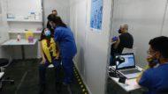 punt vacunació massiva Fira de Barcelona