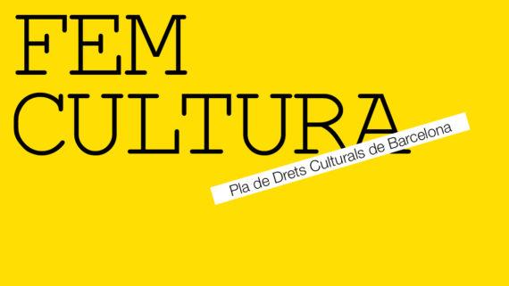 Fem cultura  Pla de Drets Culturals de Barcelona