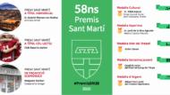 Infografia 58ns Premis Sant Martí 2020 - resultats