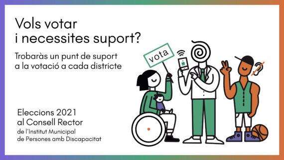 Banner: Vols votar i necessites suport?